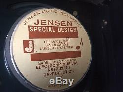 Vintage 1968 Fender Band Master Tube Guitar Amplifier Amp AB763, 12 8 Speakers
