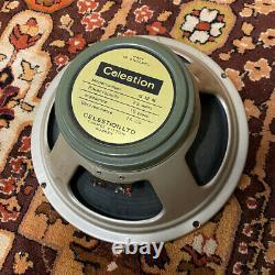 Vintage 1969 Celestion G12M 25w T1511 16ohm Greenback 12 Speaker 1960s