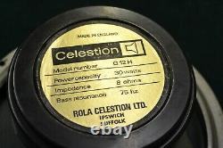 Vintage 1976 Celestion G12H T1234 Guitar Speaker Driver Black Back Sares/Repairs