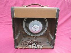 Vintage'50s Valco Supro Oahu National Amplifier Extension Speaker Amp Cabinet