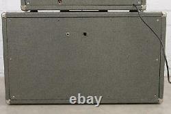 Vintage 60s Alamo Galaxie Tube Guitar Amplifier Head & Speaker Cabinet #41580