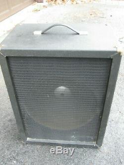 Vintage'70s Univox Unicord Westbury Bass Guitar Amp 15 SPEAKER CABINET
