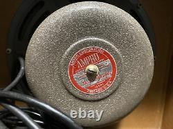 Vintage Ampro 16641 12 in. Speaker withCabinet 1956. Vintage Guitar amp speaker