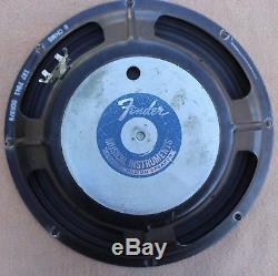 Vintage Fender Special Design Speaker Electric Guitar Amplifier Amp 12 8 Ohms