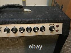 Vintage Gibson Ga-45rvt Tube Guitar Amplifier With 2 Original 12woofers/speaker