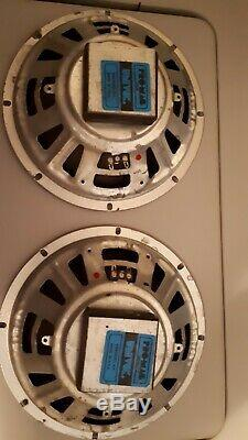 Vintage Guitar Amplifier Univox Speakers 2 10 Pro Mag 30 Watt