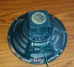 Vintage JENSEN P10Q Tweed Bassman 10 inch guitar amp speaker. P10R P12N family