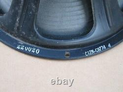 Vintage Jensen C12N Special Design Guitar Speaker J1