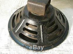 Vintage Jensen P12Q 1958 12'' alnico speaker for guitar amp. (ribbed cone)