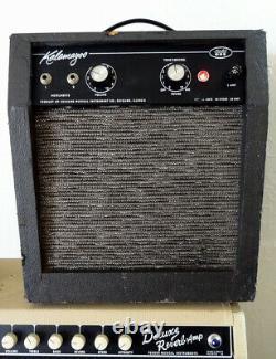 Vintage Kalamazoo Model One EL-84 guitar Harmonica Tube Amp 10 speaker Works