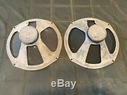 Vintage MAGNAVOX JENSEN 12 speakers matched pair Tube Amp Amplifier guitar
