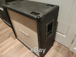 Vintage Marshall 1960B 4x12 speaker cabinet with Rare vintage Celestion G12M-25
