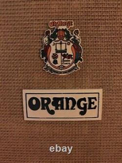 Vintage Orange 4x12 Speaker Cabinet 1972 Celestion G12H