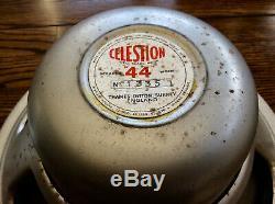 Vintage Pre Rola Celestion P44 Alnico 12 Inch Speakers Thames Ditton Surrey Uk