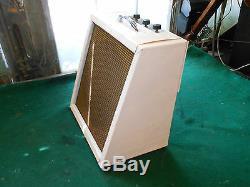 Vintage Tube Amp 1X8 & 1X4 Speakers 2X 6V6GT Guitar or Harmonica Custom Shop
