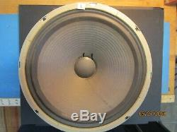 Vintage Vox Silver Bell 12 -T1088 Speaker Rare and clean-8 ohm-from Beatle cab