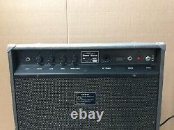 Vintage Yamaha RA-50 Amp with Rotating Speaker Chorus Tested Black