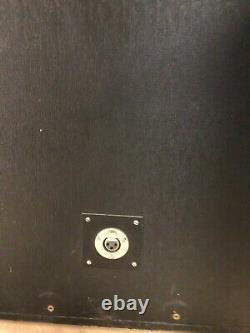 WEM actual Floyd 4 x 12 column speakers A type with Floyd fitted 1960s XLR input