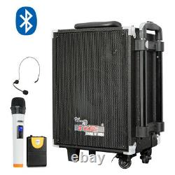 Wireless Amplifier Outdoor Portable Bluetooth PA System Rechargeable