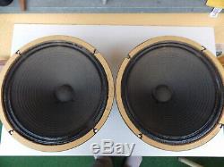 1 Paar G12 Celestion Alnico Président Aus 65er Vintage Vox