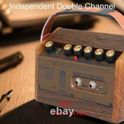 15w Acoustic Guitar Amp Mini Singing Amp Bluetooth Speaker MIC Entrée