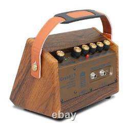 15w Guitar Amp Singing Amp Bluetooth Haut-parleur Intégré Batterie Rechargeable