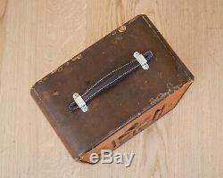 1940 Vega Commandant Vintage Tube Amp Avec Érable Moucheté Visage, Jensen 10 Président