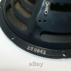 1950 Jensen P10q 10 8 Ohms Alnico Haut-parleur Guitare / Amplificateur Vintage Original # 2
