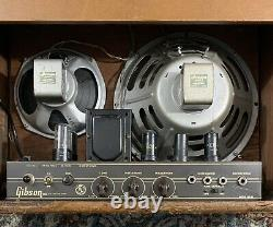 1952 Gibson Ga30 Tube 1x12 1x8 Combo Amp! Haut-parleurs Jensen