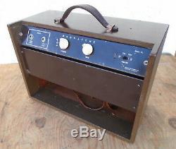 1960 Magnatone Modèle 111 Amplifier, Président De 1x8, 5 Watt Amp. Tueur A Champ