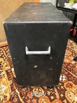 1960 Vintage Wem Watkins Starfinder 2x12 Amplificateur De Guitare Cabinet Fane Haut-parleurs