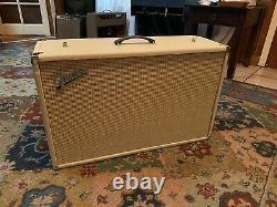 1962 Vintage Original Fender Bassman 212 Cabinet Des Conférenciers