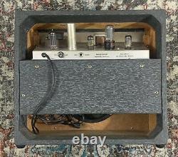 1964 Danelectro Dm10 Tube Combo Amplificateur! Super Propre! Jensen Président! Rca 6v6