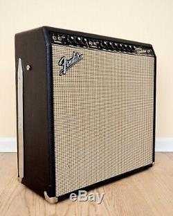 1966 Fender Super Reverb Blackface Tube Amp Haut-parleurs En Céramique, L'exportation Du Transformateur