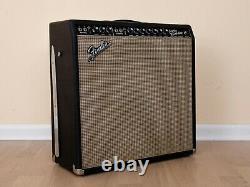 1967 Fender Super Reverb Blackface Vintage Tube Amp 4x10 Haut-parleurs Cts Alnico