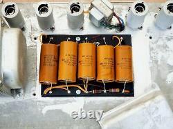1967 Fender Twin Reverb Blackface Vintage Tube Amp 2x12 Avec Haut-parleurs Oxford 12t6