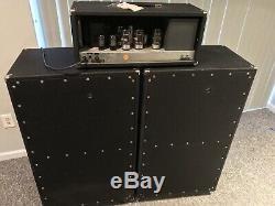1968 Coliseum Sunn Pa Amplificateur Withdynaco, Avec 2-4x12 Cabs Jensen C-12n Haut-parleurs