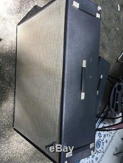 1970 Fender Bandmaster Double Showman Cabinet Aucun Haut-parleurs 2 12 Pouces