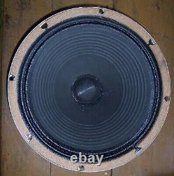 1974 Celestion G12m Vintage Creamback Speaker. 6402 Cône