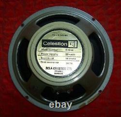 1974 Celestion Vintage G12m Creamback Président. 6402 Cône