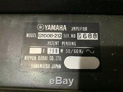 1974s Yamaha G100b-b212 Guitare Amplificateur Haut-parleurs