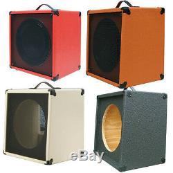1x12 Guitar Speaker Desserte Vide Feu Red Hot Texture Tolex