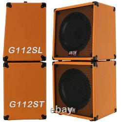 1x12 Guitar Speaker Extension Cabine Avec 16 Ohm Celestion 70 80 Orange Tolex