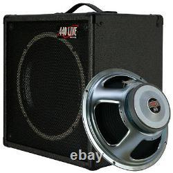 1x12 Guitar Speaker Extension Cabinet With16 Ohm Celestion Soixante-dix 80 Haut-parleur