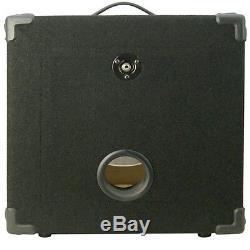 1x12 Guitare Basse Compact Vide Enceinte Finition Moquette Noire Mbg1x12bcp
