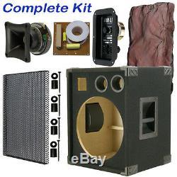 1x15 Guitare Basse Compact Vide Enceinte Noir Tapis 440live Bg115ht-jur