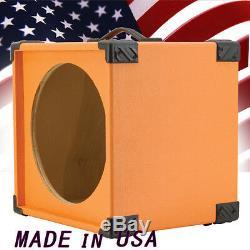 1x15 Guitare Basse Vider Enceinte Orange Tolex Minibg115 Botlx