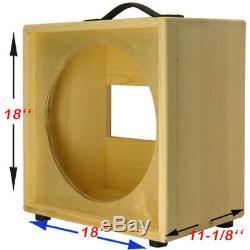 1x15 Haut-parleur De Guitare Brut Brut D'extension Avec Une Enceinte Vide Pour Jbl E130 E140