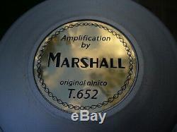 2005 Celestion / Marshall T-652 Alnico Haut-parleurs - Haut-parleur Docteur Au Banc D'essai
