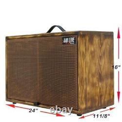 2x10 Pin Cru Finition Afterburn Armoire Pour Enceintes De Guitare W Celestion V10 Haut-parleurs